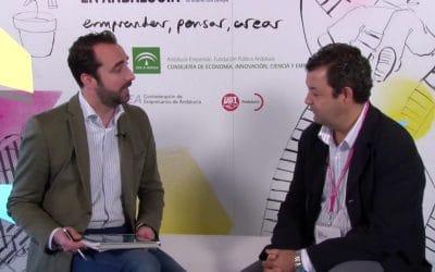 El canal de TV Online Andalucia Emprende entrevista a Antonio Tendero, Arquitecto de Worldmetor