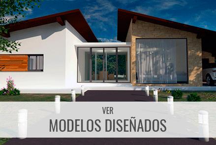 Consulta nuestros modelos diseñados de casas industrializadas