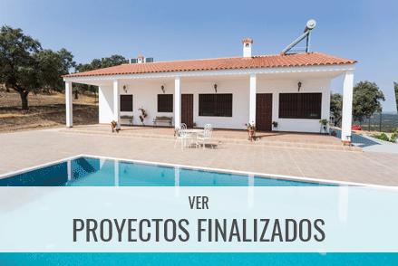 Consulta nuestros proyectos finalizados de casas industrializadas